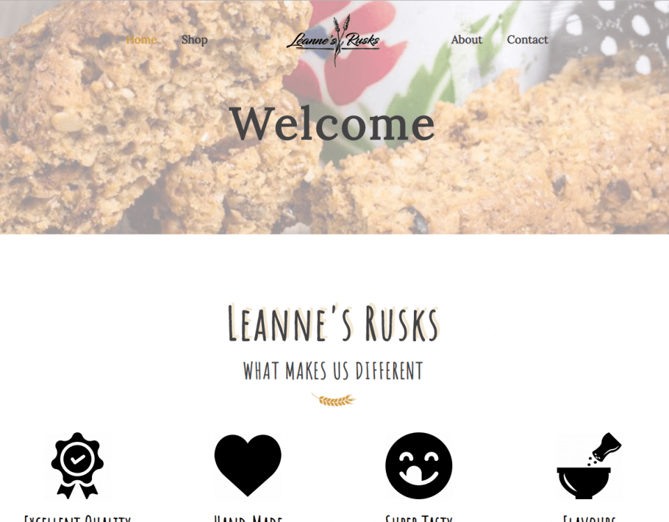 leanne's rusks