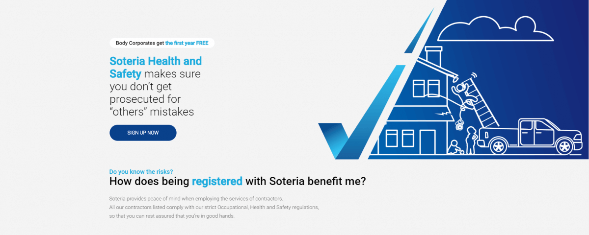 soteria health and safety website