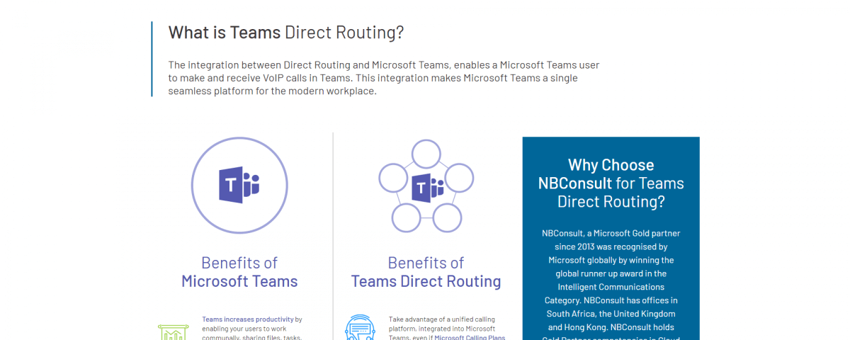 teams direct routing