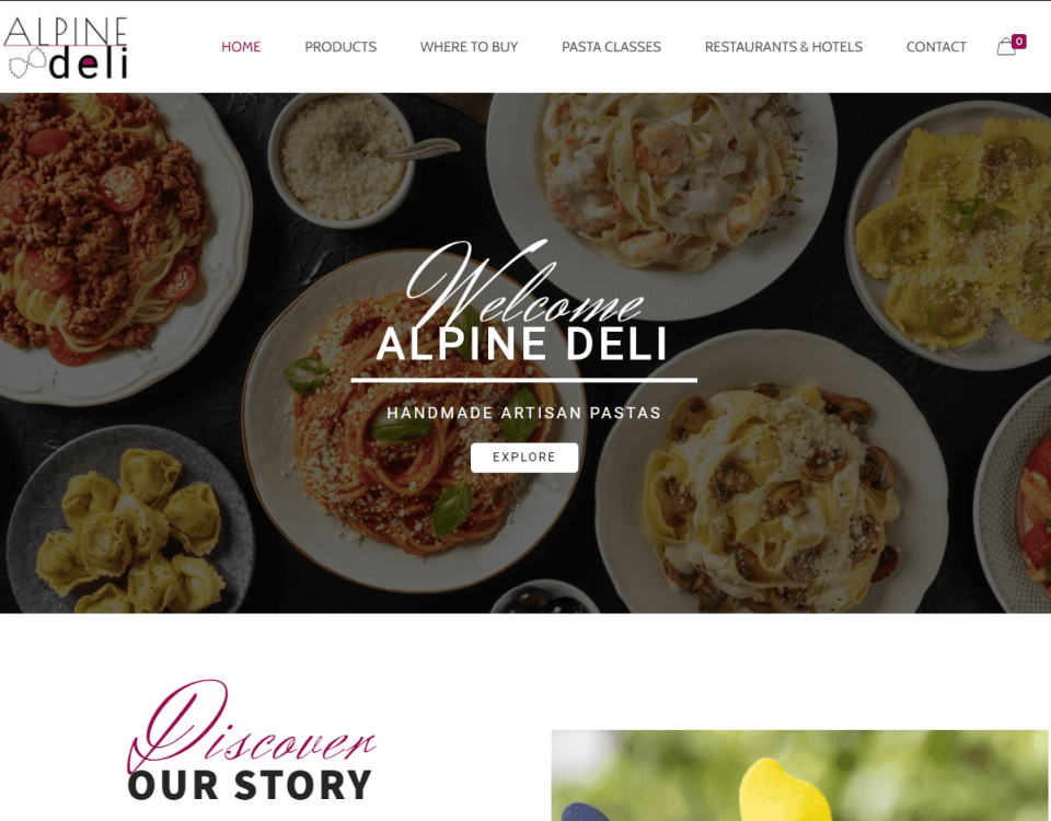 alpine deli website