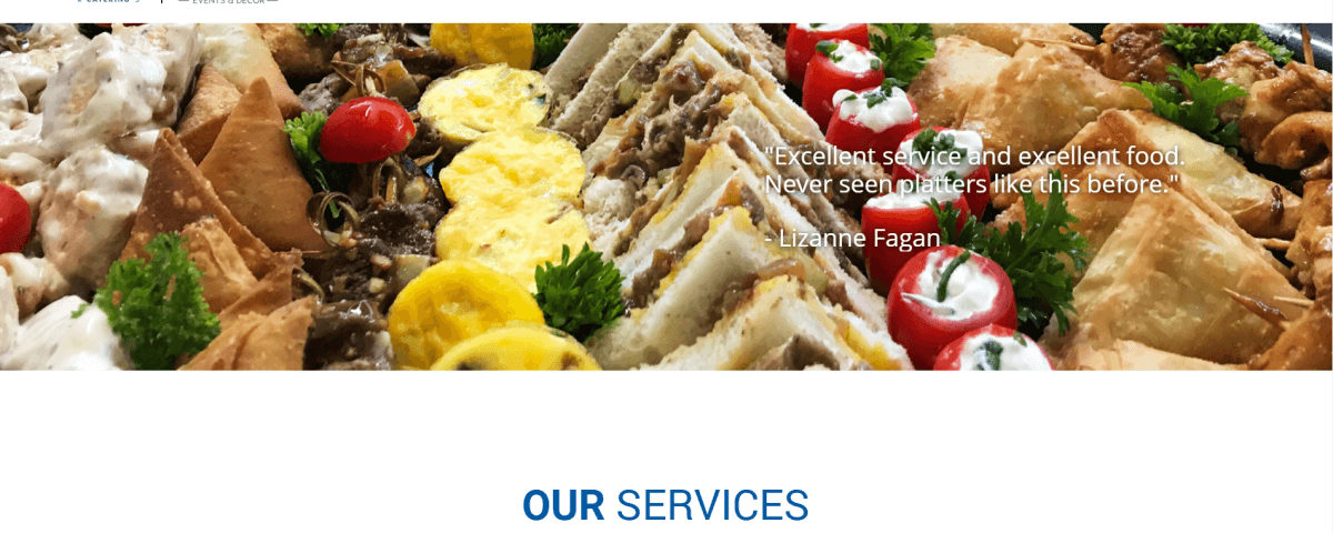 bruces catering